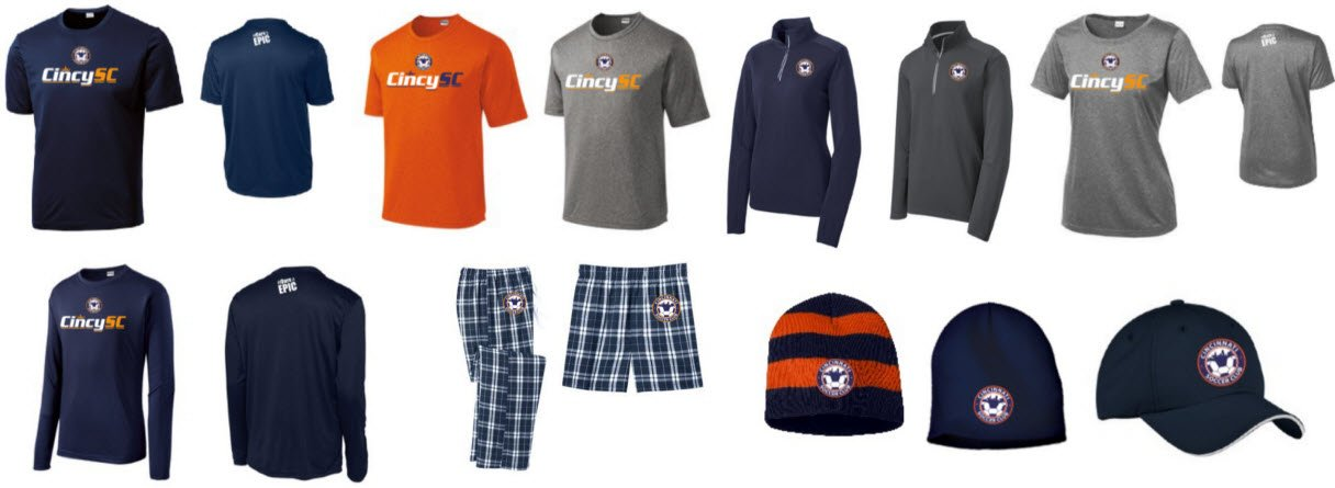 Cincy SC Spirit Wear Shop
