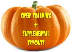 Open Training & Supplemental Tryouts
