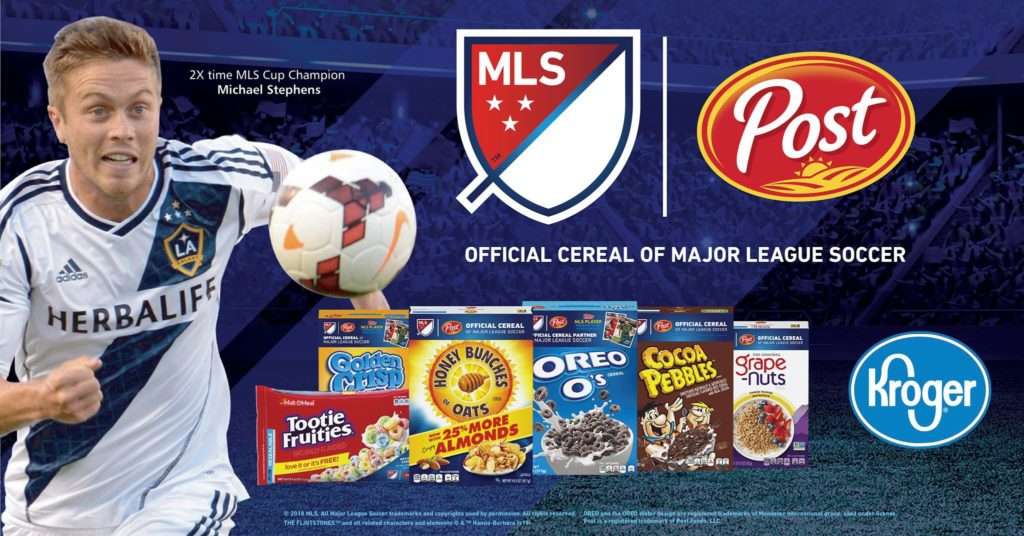 Post Cereals and Kroger MLS Tour