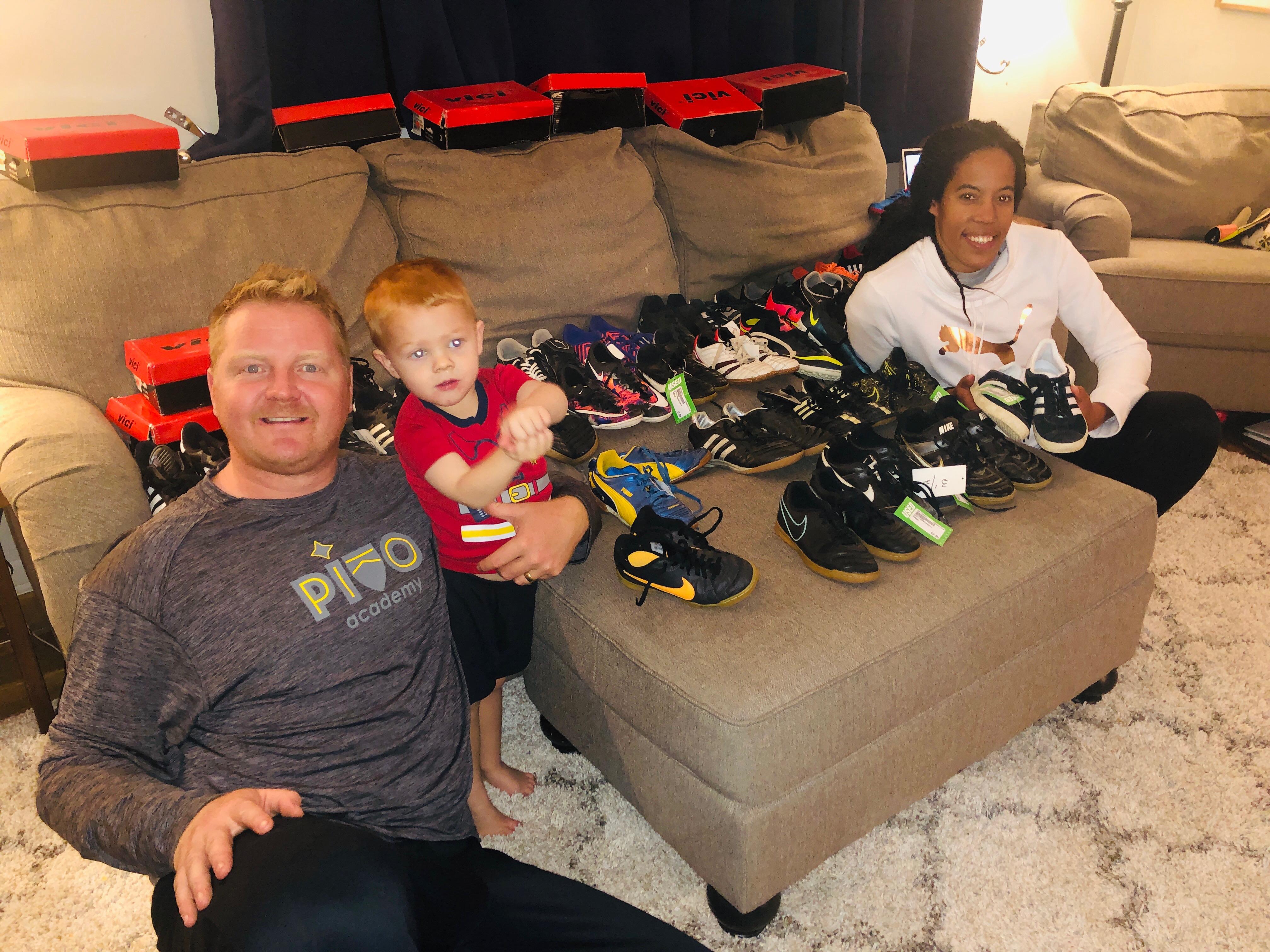 New inner-city soccer program receives massive shoe donation