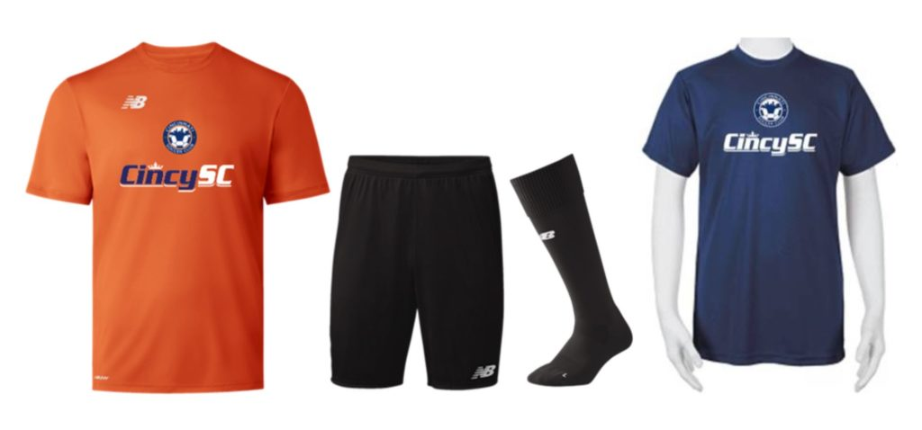 2019 Cincy SC Training Kit