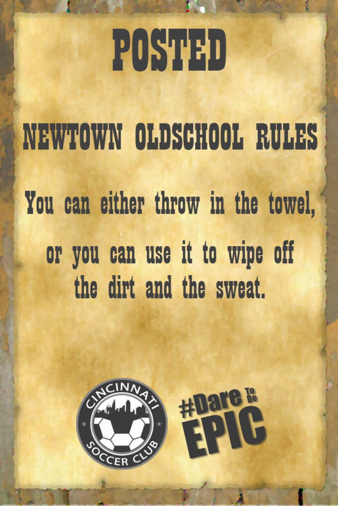 Newtown Oldschool Rules Poster