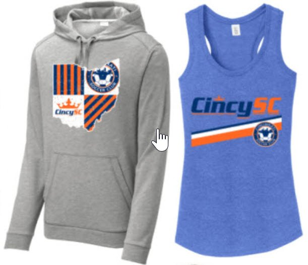 Cincy SC Fan Wear
