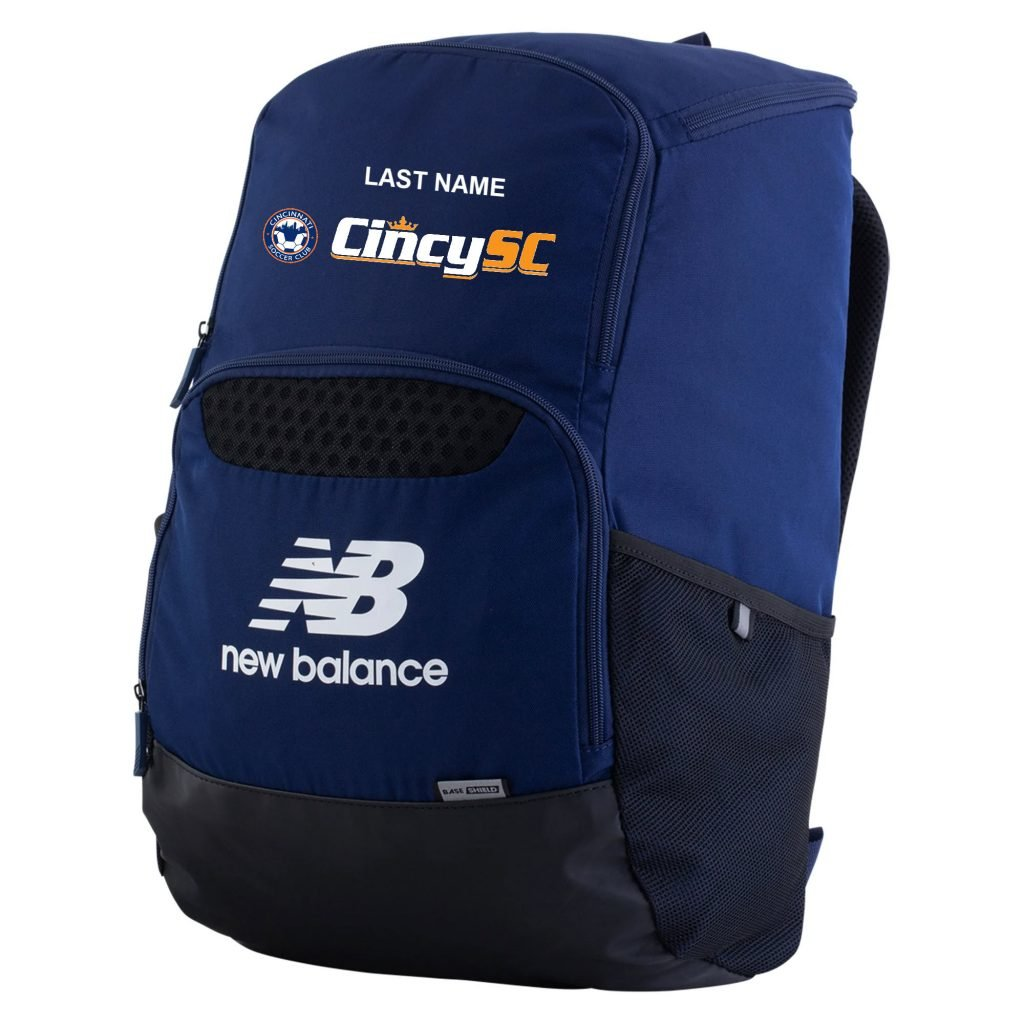 NB Breathe Backpack with embroidered name and logo