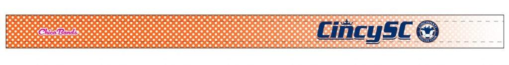 Cincy SC Orange Headband