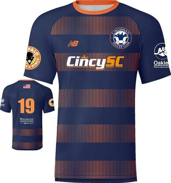 Navy Cincy SC Jersey