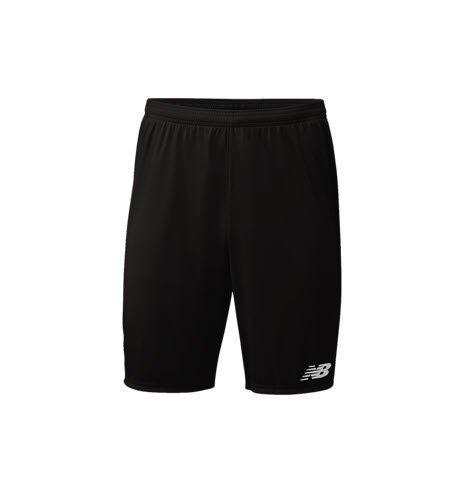 NB Black Training Soccer Shorts