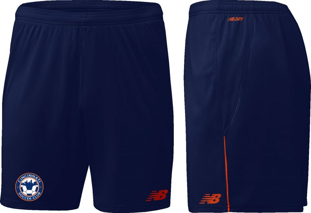 Navy NB Game Shorts