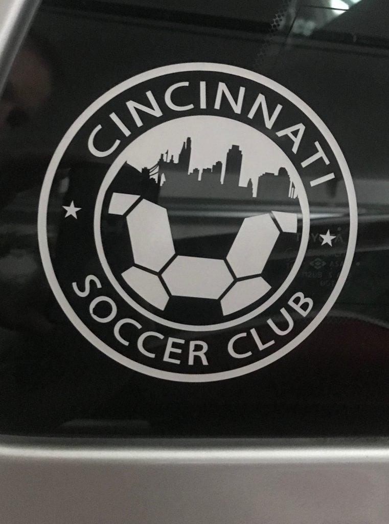 Club Logo Car Decal