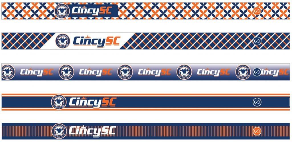 Cincy SC Sweaty Bands