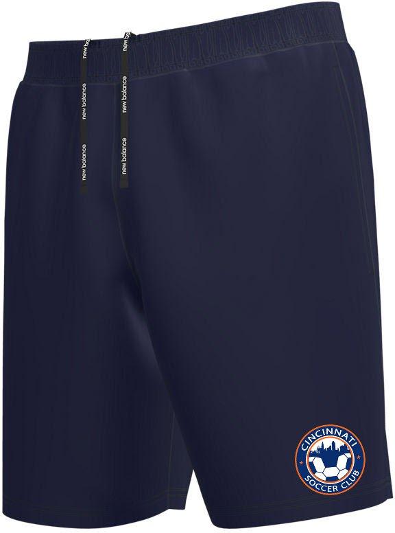 Navy NB Coaches Short
