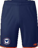 Navy New Balance Cincy SC Game Shorts