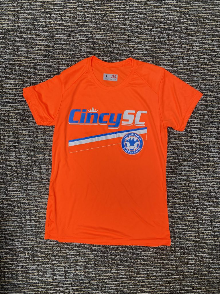 Bright Orange Training Shirt
