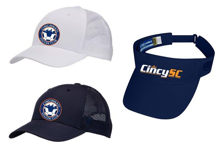 Ball caps and visor